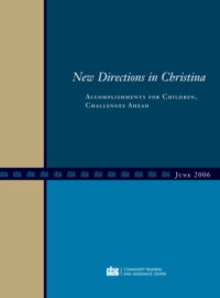 "Download Report ""New Directions in Christina"""